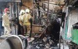 فوت شهروند افغان در حادثه آتش سوزی