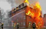 نشت گاز بخاری منزل مسکونی را به آتش کشید