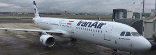 پایان ٣٧ سال تحریم هوایی ایران! /ایرباس ۳۲۱  در مهرآباد