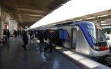 خط ۵ متروی تهران روز جمعه پذیرش مسافر ندارد