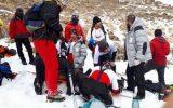 نجات ۱۰۰نفر گرفتار در توچال
