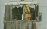 کلیپ انفجار توسط بخار بنزین