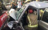 جزییات تصادف در خیابان آزادی
