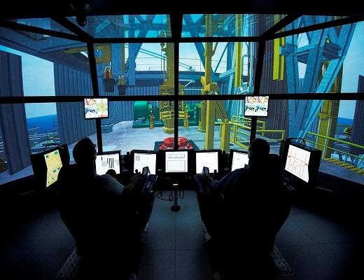 Mersk و آموزش شبیهساز پیشرفته برای صنعت نفت و گاز