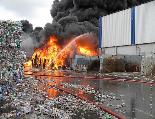 حفاظت از کارخانههای بازیافت با Tönsmeier
