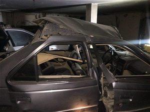 انفجار خانه سه طبقه در سعادت آباد