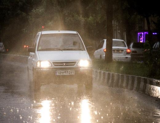 پیشبینی باران شدید برای ۱۰ استان، وزش باد در تهران و البرز