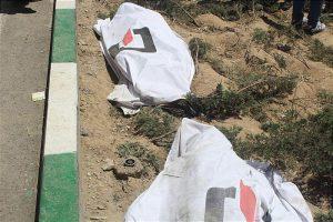 واژگونی مرگبار بونکر سیمان در بزرگراه فتح