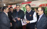 بازدید رییس شورای شهر و شهردار و رییس آتش نشانی از غرفه فرارسانه