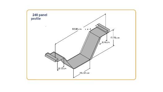 شکل هندسی پنل Super Span