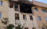 انفجار ساختمان ۳ طبقه در اسلامشهر