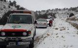 خارج کردن ۲۳۹ دستگاه خودرو از برف و کولاک طی عملیات امداد و نجات