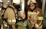 آتش سوزی در برج های مهستان/ ۳۵ نفر نجات پیدا کردند