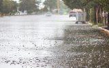 مردم خوزستان هنگام بارشهای اولیه پاییز در شهر تردد نکنند