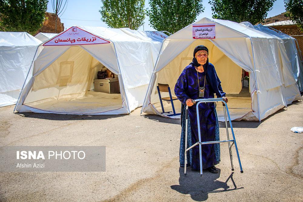 مانور بهداشت و درمان اضطراری هلال احمر در استان فارس