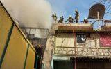 جزئیات آتشسوزی گسترده در یک ساختمان در باغ سپه سالار