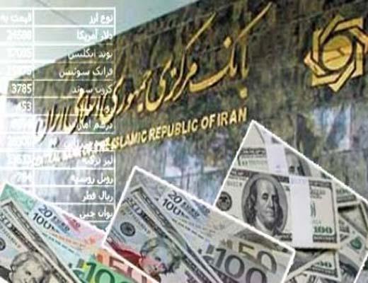 کاهش نرخ دلار بانکی به ۳۰ هزار و ۱۸۰ ریال