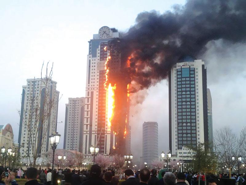 ایجاد ساختاری برای منطقه سقوط آوار در آتشسوزیها