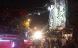 ۴مصدوم در حادثه خیابان فخر رازی