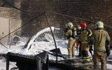 ماجرای آتش سوزی در کارگاه تولیدی وارمین