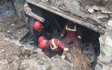 تخریب ساختمان مسکونی در خیابان ۱۵ خرداد