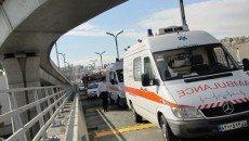 به کارگیری 4244 آمبولانس در طرح زمستانه جادهها