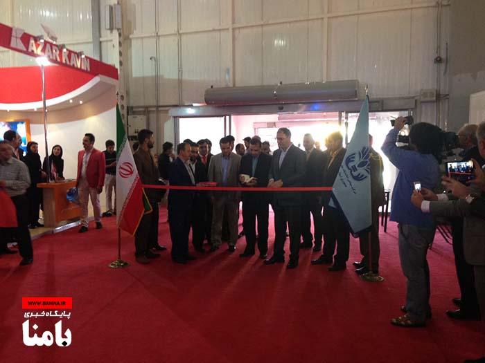 گزارش تصویری از افتتاح دومین نمایشگاه بین المللی بهداشت، ایمنی و محیط زیست