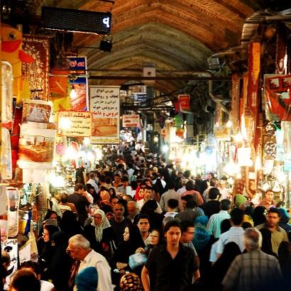Iran-Tehran-Bazaar