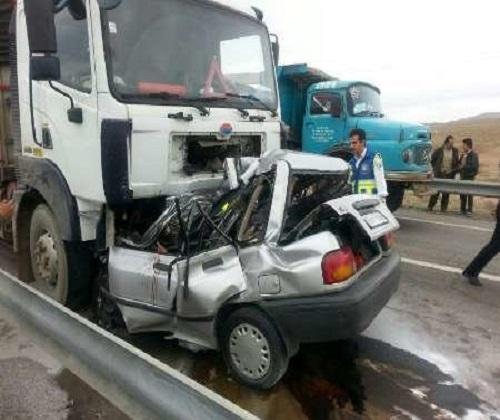 تلفات جادهای سمنان، ۲ برابر خودکشی در فرانسه!