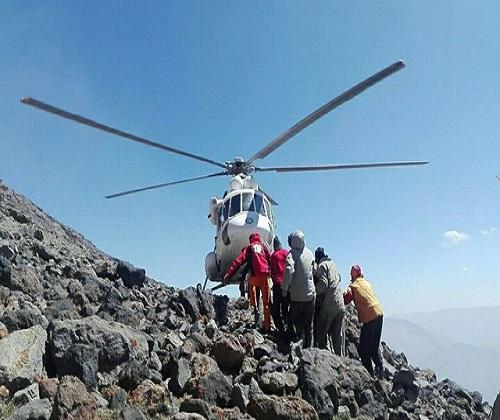 نجات جان کوهنورد اهل چک در دماوند