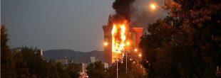 علت آتش سوزی برج سلمان مشهد و برج joemla