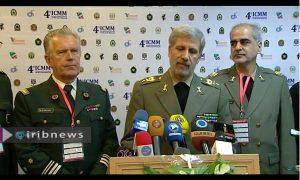 مصاحبه وزیر دفاع در اختتامیه چهارمین کنگره آسیا پاسیفیک طب نظامی