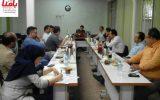 گزارش تصویری از  جلسه هیات علمی و سخنرانان اصلی همایش تخصصی خطاناپذیرسازی عملیات انبار با رویکرد مدیریت ایمن