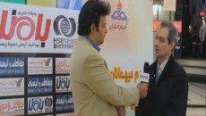 مهندس عبدالله زاده، رئیس ایمنی و آتش نشانی شرکت ملی نفت ایران