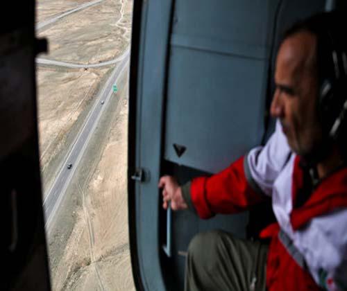 "ریزش کوه در ""علم چال"" و فوت یک کوهنورد"