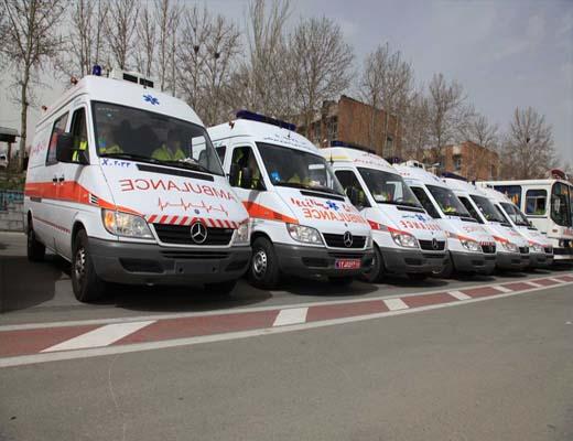 ورود ۱۸۰۰ دستگاه آمبولانس به کشور