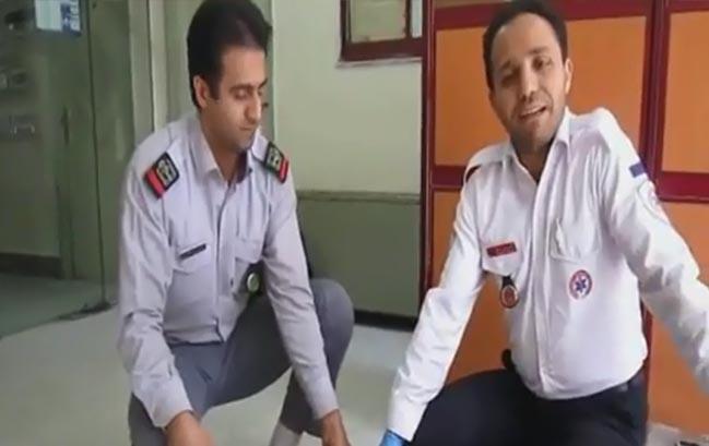 ویدئوی آموزش اقدامات اولیه در تشنج