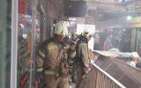 حادثه پاساژ قدیمی در خیابان امیرکبیر مصدومیت و تلفات جانی نداشت