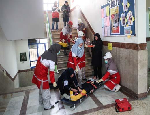 ۱۰۰۰ مدرسه پایتخت در برابر بحران آماده می شوند