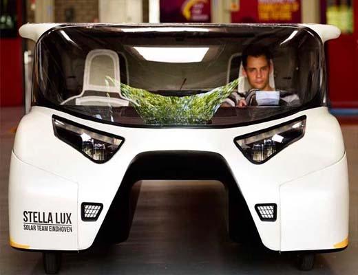 آشنایی با ۷ خودروی شگفت انگیز خورشیدی