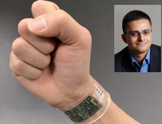 آنالیز عرق برای کنترل سلامت با مچبند هوشمند دانشمند ایرانی