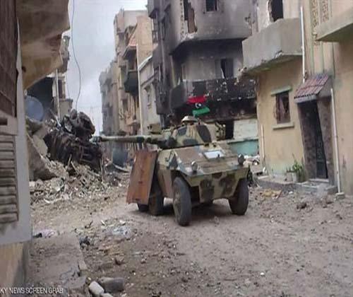 اسارت بیش از ۶۰۰ داعشی در درنه لیبی