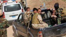 حمله شیمیایی داعش به مواضع پیش مرگ ها در کرکوک