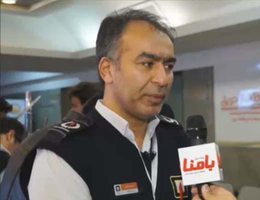 مهدی داوری، معاون عملیات سازمان آتش نشانی استان تهران