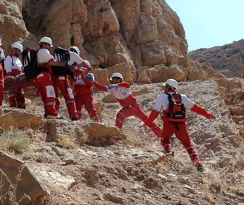 تشکیل گروه امداد و نجات کوهستان در هلال احمر دزفول