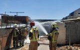 حادثه آتش سوزی در جاده ورامین تلفات جانی و مصدومیت نداشت