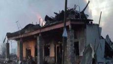 """20 درصد خانههای """"فورت مکموری"""" در آتش سوخت"""