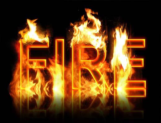 انواع آتش