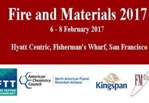 برگزاری همایش حریق و مواد ۲۰۱۷ Fire and Materials