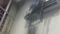 آتش سوزی فروشگاه لباس در پاسداران